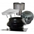 Střešní ventilátory a komínové hlavice